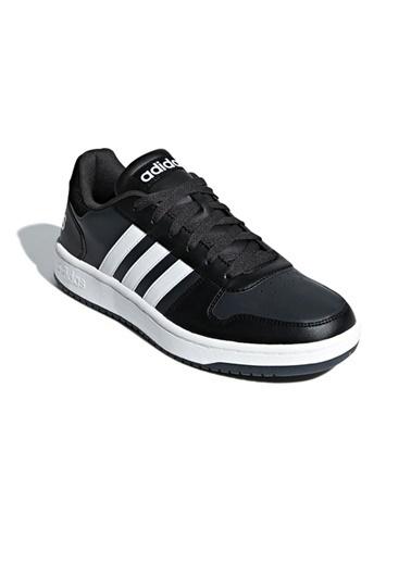 adidas Hoops 2.0 Erkek Günlük Ayakkabı B44699 Siyah